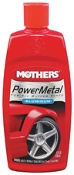 Mothers Power Metal Metal Polish for motorcycle and automotive wheels.