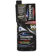 Chevron, Techron concentrate plus, fuel system cleaner. Cleans fuel injectors, carburetors, intake valves, ports and combustion chambers.