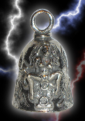 V-Twin Pewter Gremlin Bell, made by Guardian