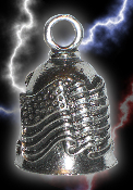 Old Glory Pewter Gremlin Bell, made by Guardian