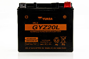 Yuasa GYZ20L AGM (Absorbed Glass Mat) motorcycle battery