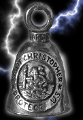 Saint Christopher Gremlin Bell by Guardian