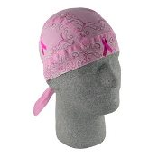 D0-Rag Breast Cancer Pink Ribbon Paisley