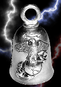US Marine Corps Pewter Gremlin Bell, made by Guardian
