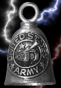 US Army Pewter Gremlin Bell, made by Guardian