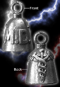 MD Pewter Gremlin Bell, made by Guardian