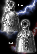 EMT Pewter Gremlin Bell, made by Guardian