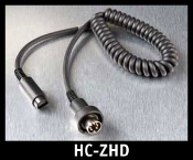 J&M Z-Series Lower-Section 8-pin Lower Cord HC-ZHD. HC-ZHD to be used with: 1998-2013 Harley Davidson 7-pin audio systems.