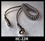 J&M Z-Series Lower-Section 8-pin Lower Cord HC-ZJM. HC-ZJM to be used with: 1999-2013 J&M Corp and BMW 6-pin audio systems.