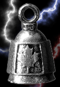 Maple Leaf Pewter Gremlin Bell, made by Guardian
