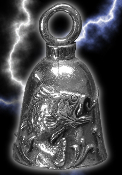 Bass Pewter Gremlin Bell, made by Guardian