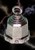 Billet Pewter Gremlin Bell, made by Guardian